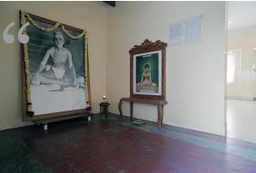 portrait of sri ramana